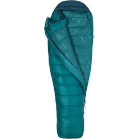 Marmot Angel Fire Sleeping Bag long Women, malachite/deep teal